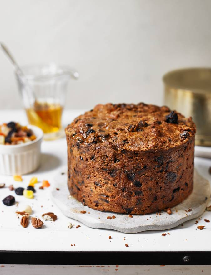 Tropical fruit and nut cake Sainsbury s magazine
