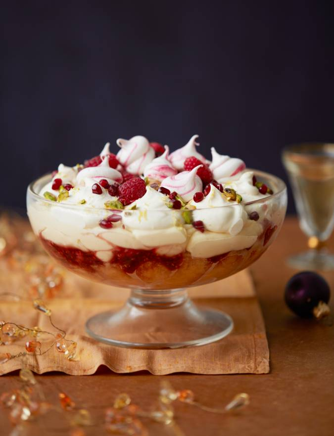 Recipe: Raspberry and Prosecco trifle