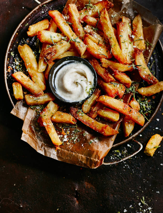 Recipe: Chunky double-cooked chips
