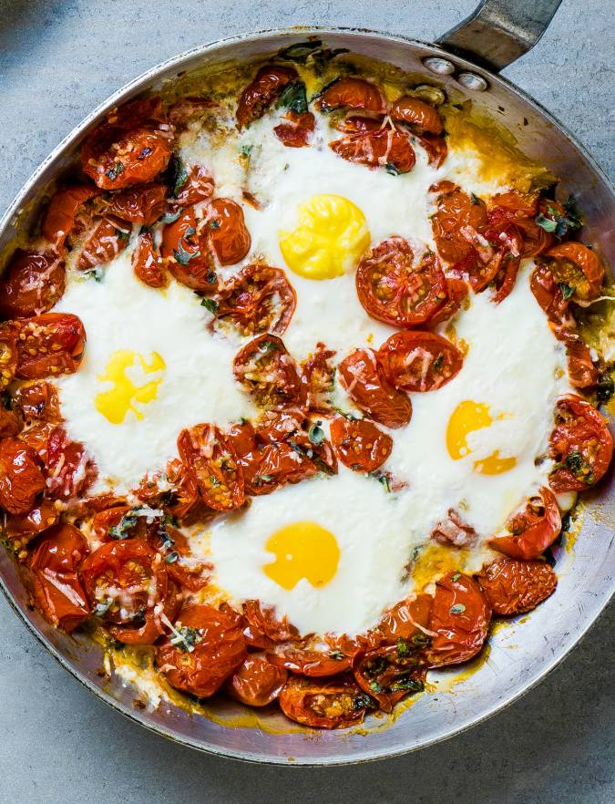 Recipe: One-pan Italian baked eggs