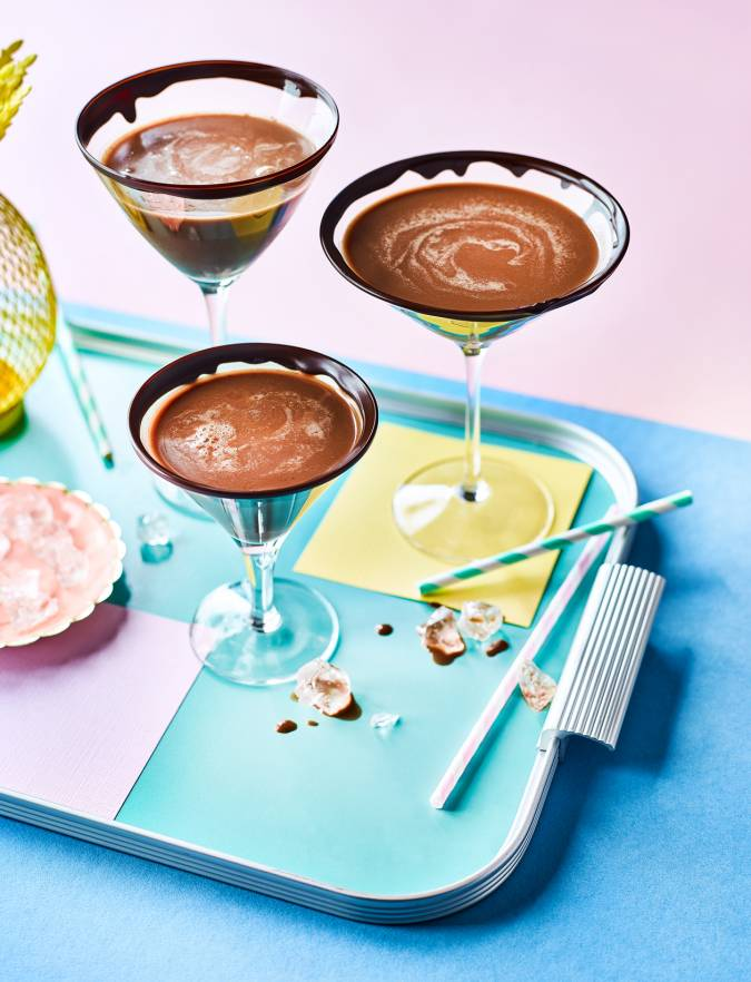 Recipe: Nutella martinis