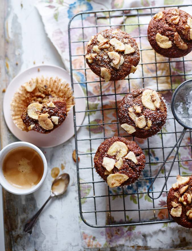 Recipe: Mini banana loaf muffins