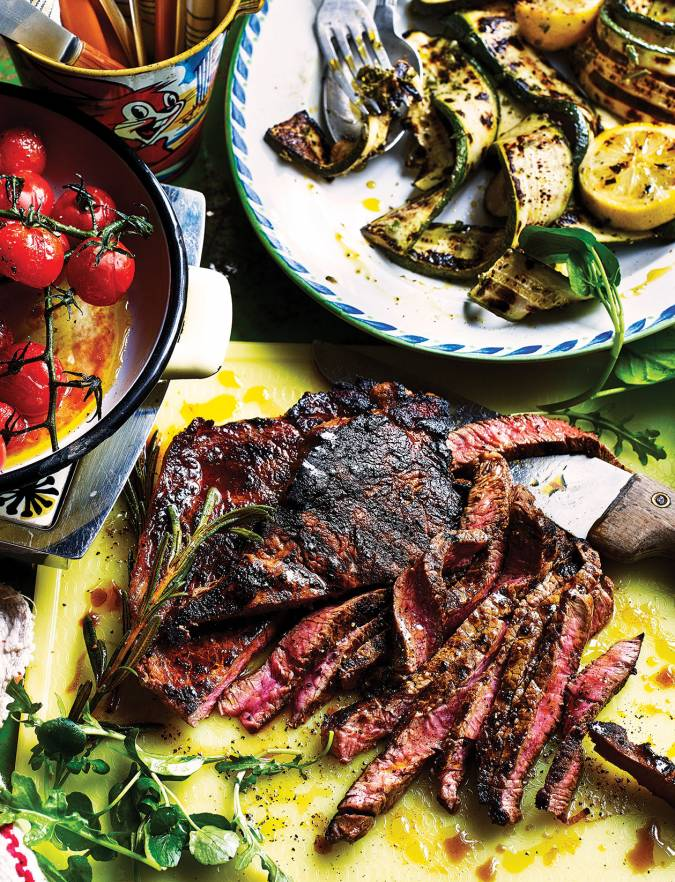 Recipe: Coffee and rum-marinated steaks