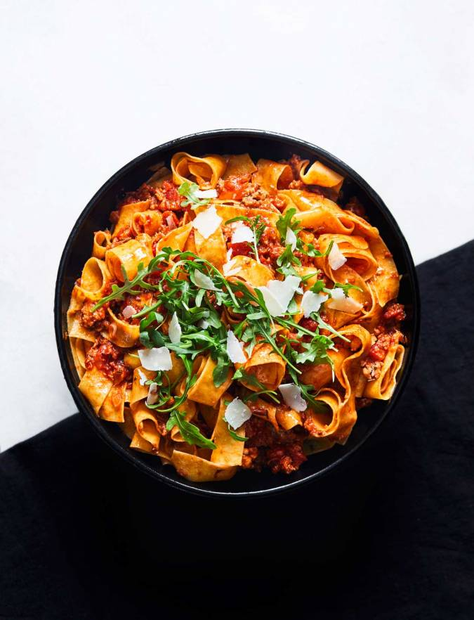 Recipe: Pappardelle with rosemary and sausage ragu