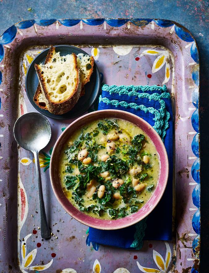 Recipe: Cannellini bean soup