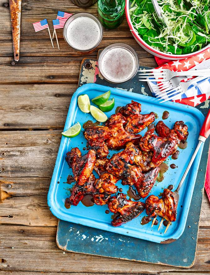 Recipe: Coal-roasted Marmite chicken wings