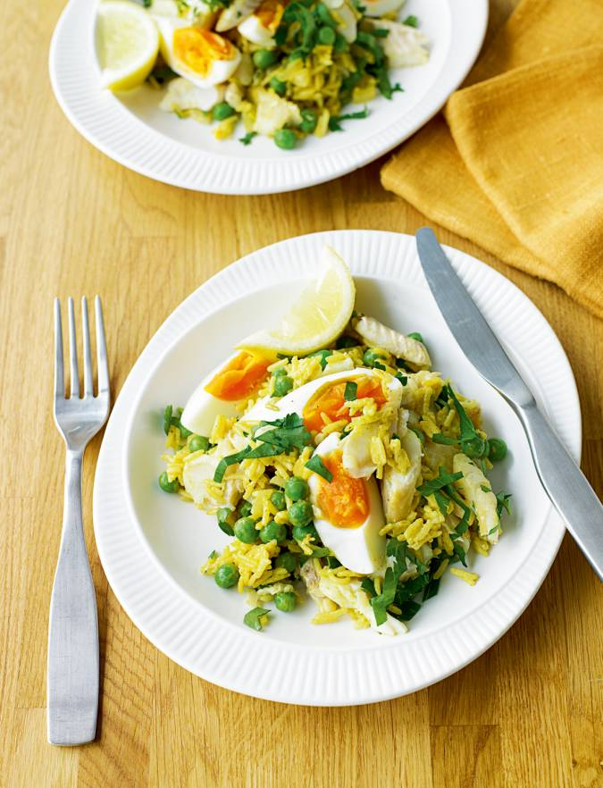 Recipe: Easy smoked haddock kedgeree