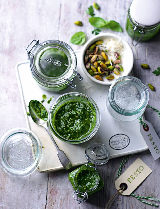 Recipe: Pistachio pesto