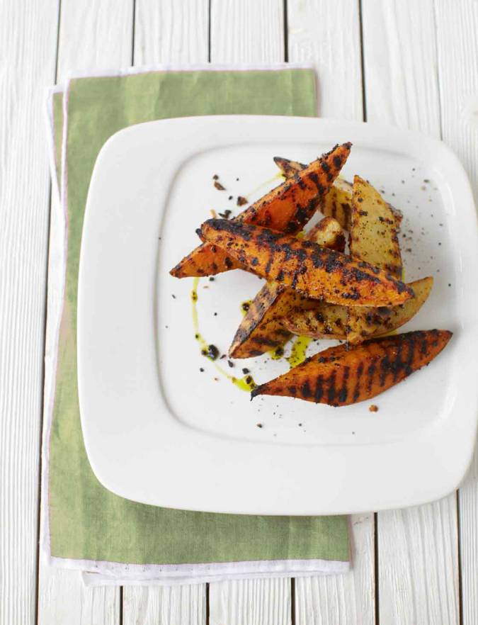 Recipe: Spiced barbecue wedges
