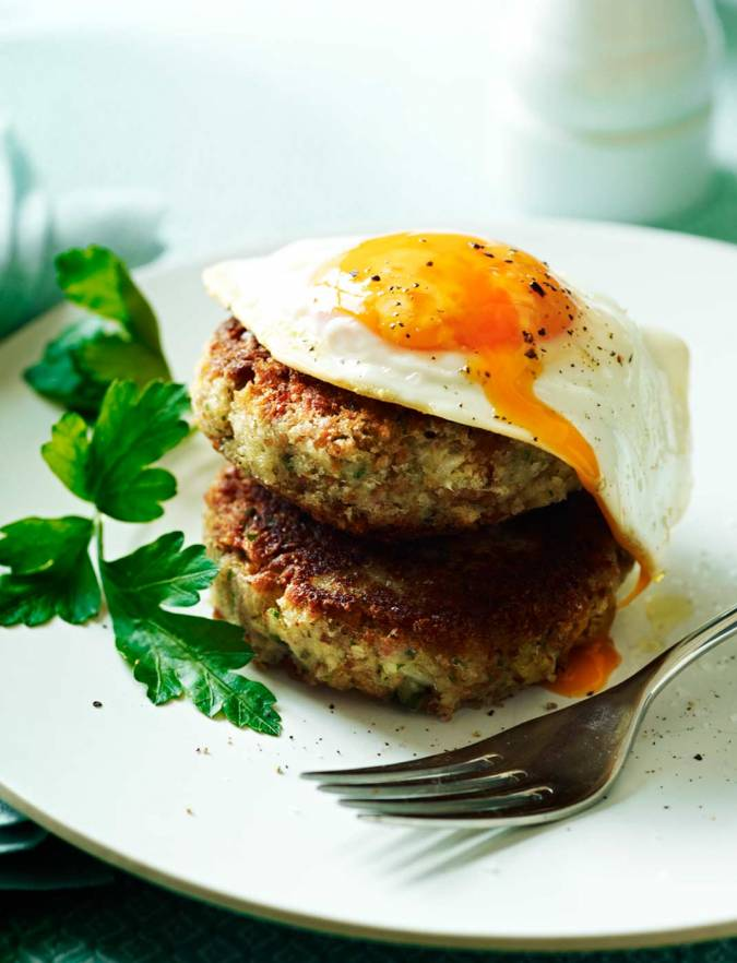 Recipe: Ham and potato hash cakes
