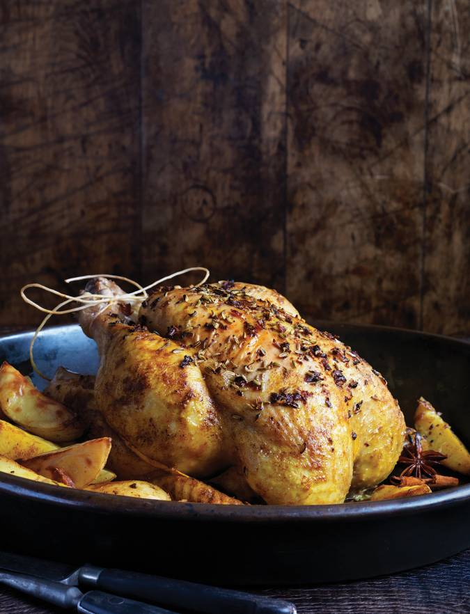 Recipe: Spiced Moroccan chicken