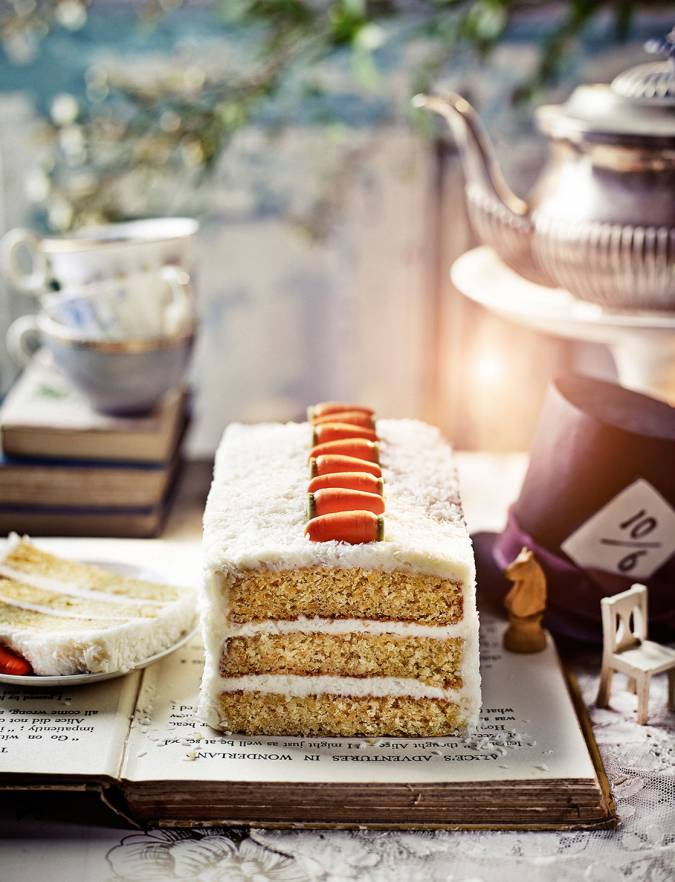 Recipe: The White Rabbit coconut and carrot cake