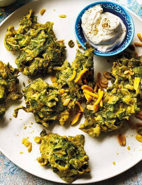 Recipe: Crispy spinach chaat