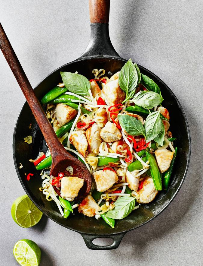 Recipe: Thai turkey stir-fry with chilli and basil
