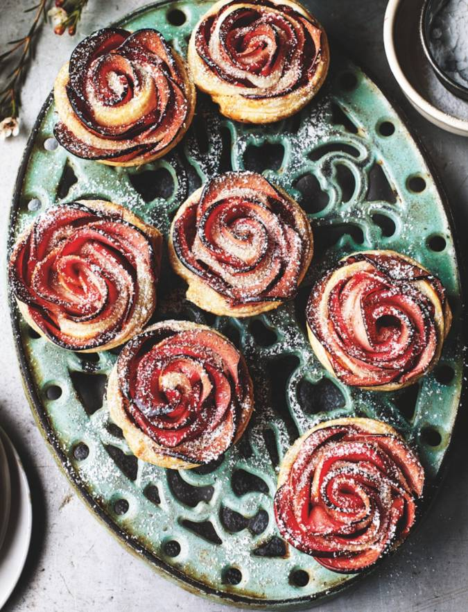 Recipe: Apple rose tarts