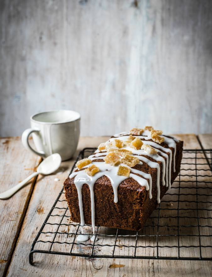 Recipe: Triple ginger loaf cake