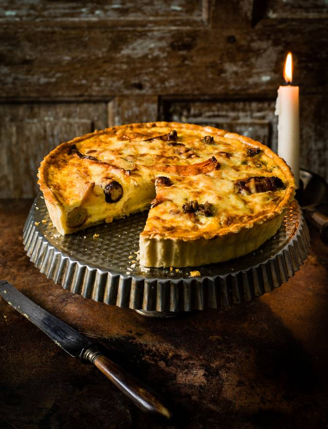 Recipe: Leftovers quiche