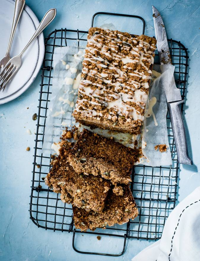 Recipe: Carrot cake with cinnamon crumble