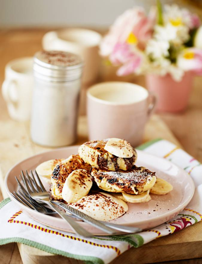 Recipe: Choc-chip pancakes