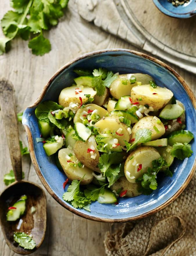 Recipe: Jersey potato salad with Thai flavours