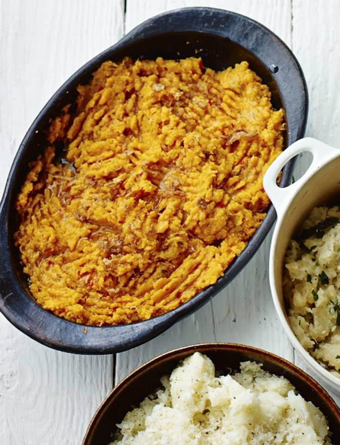 Recipe: Sweet potato, cumin and chilli mash