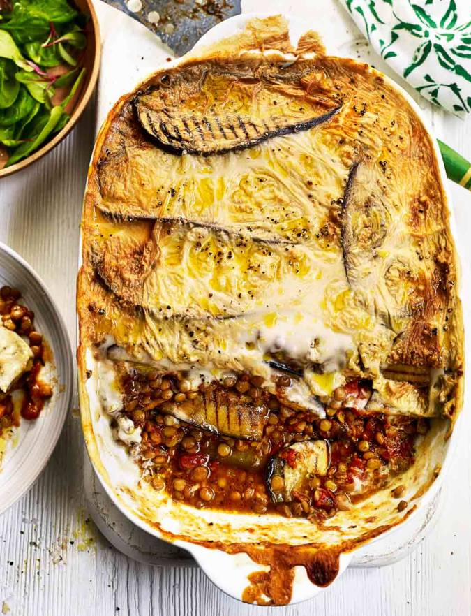 how to make moussaka with potatoes