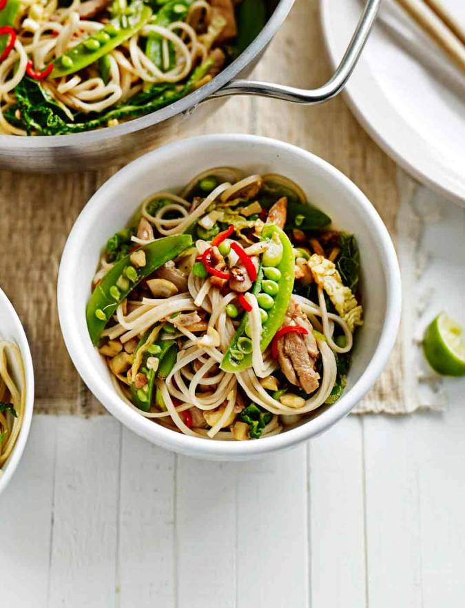 Recipe: Winter chicken stir-fry