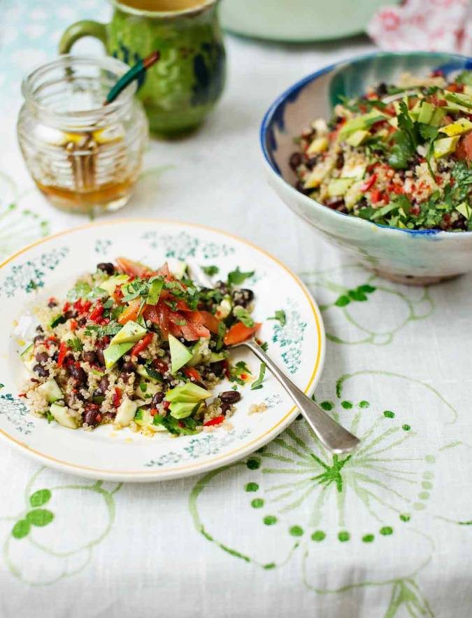 Recipe: Mexican quinoa salad