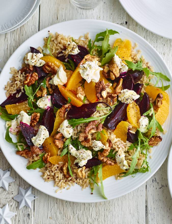 Recipe: Beetroot, orange and quinoa salad