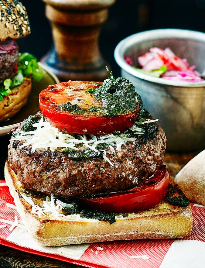 Recipe: Tapenade burger