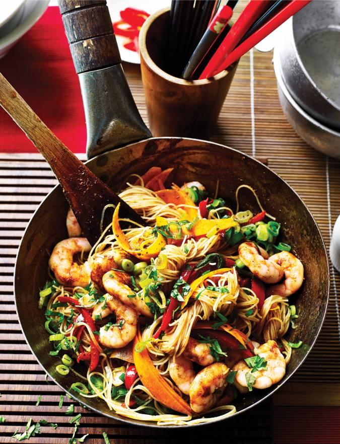how to make singapore noodles recipe