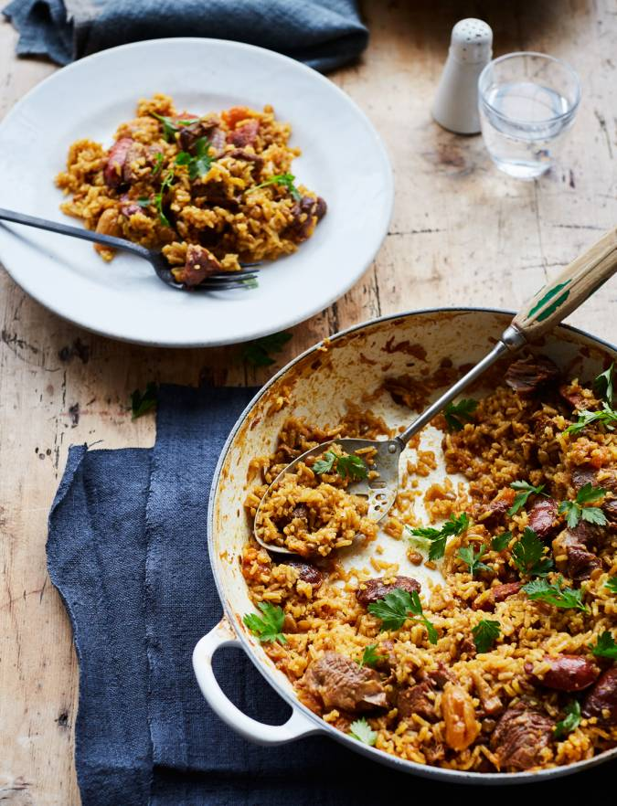 Recipe: Middle Eastern lamb pilaf