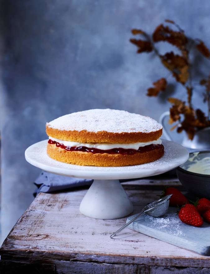 Recipe: Nancy Birtwhistle's Victoria sponge
