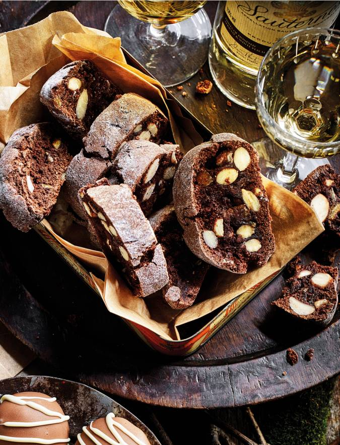 Recipe: Chocolate orange cantuccini biscuits