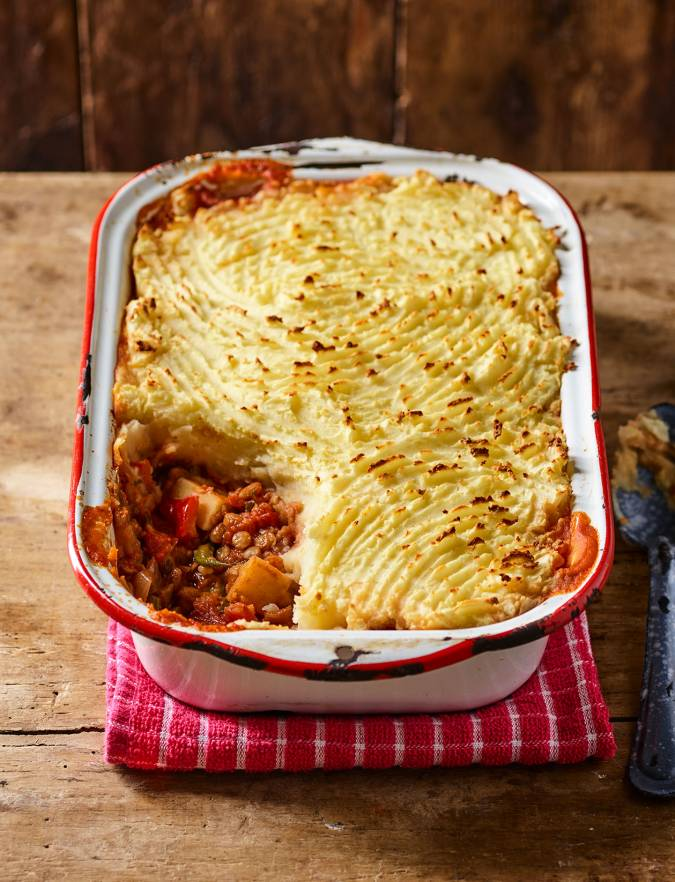 Recipe: Vegan shepherd's pie
