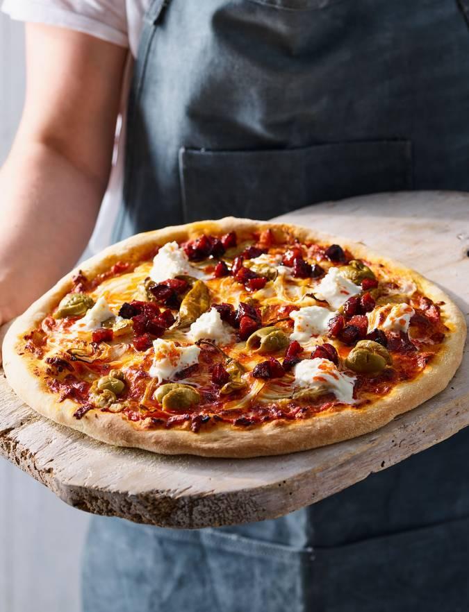 Flavour Bomb Pizza