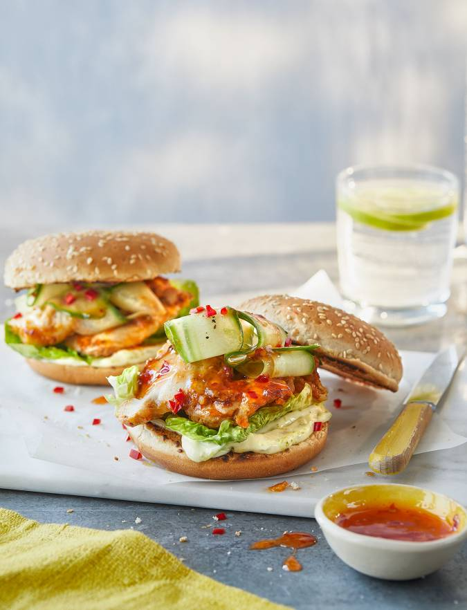 Recipe: Thai chicken burgers