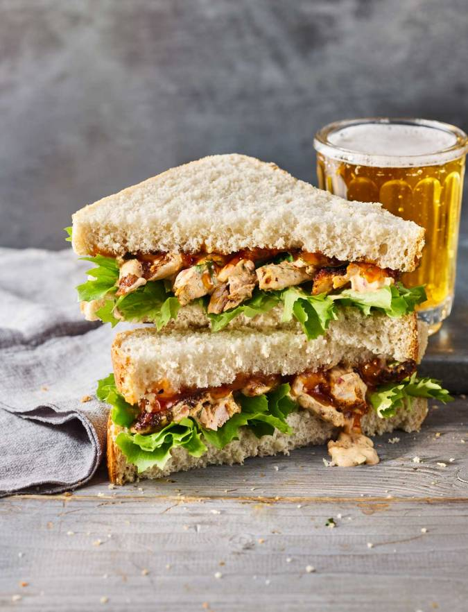 Recipe: Chicken madras sandwich
