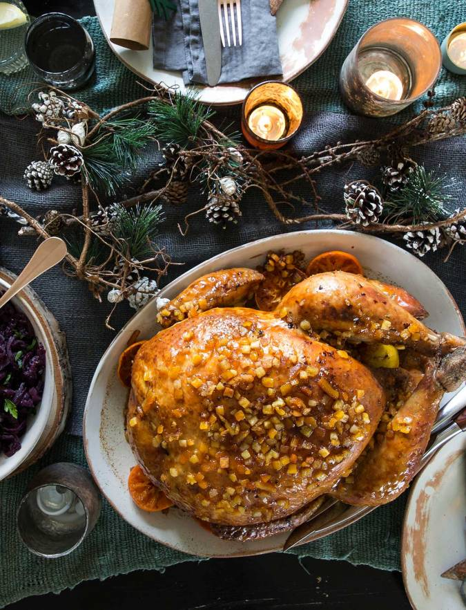 Recipe: Sticky citrus and spice turkey