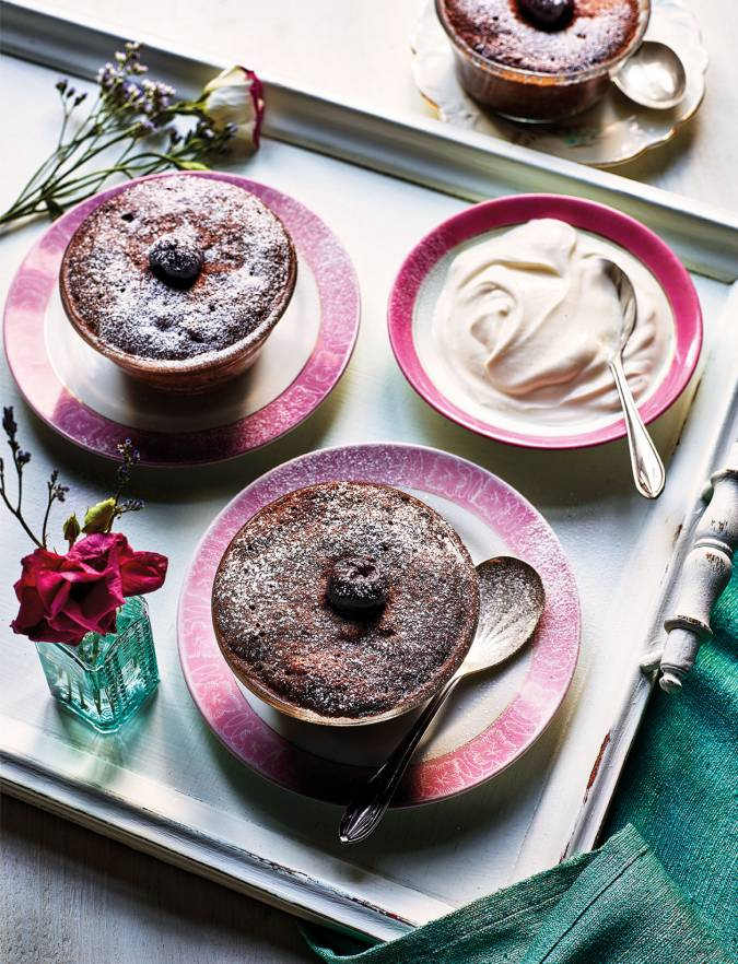 Recipe: Black Forest microwave pud