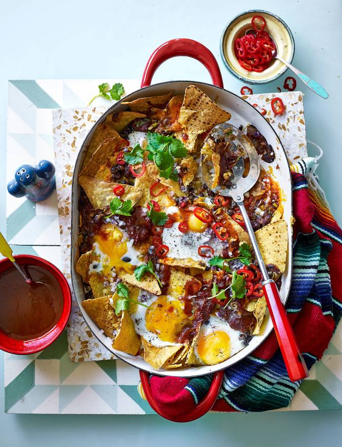 Recipe: Chilaquiles - breakfast nachos