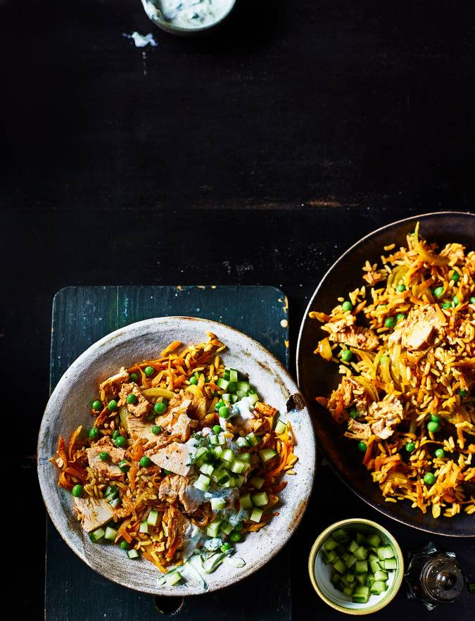 Recipe: Chicken tikka fried rice
