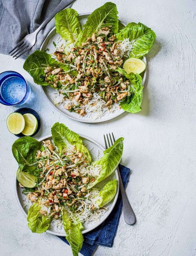 Recipe: Fragrant turkey larb