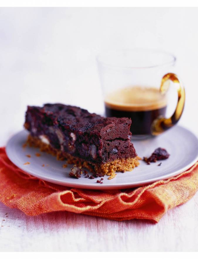 Recipe: Decadent chocolate and chestnut bars