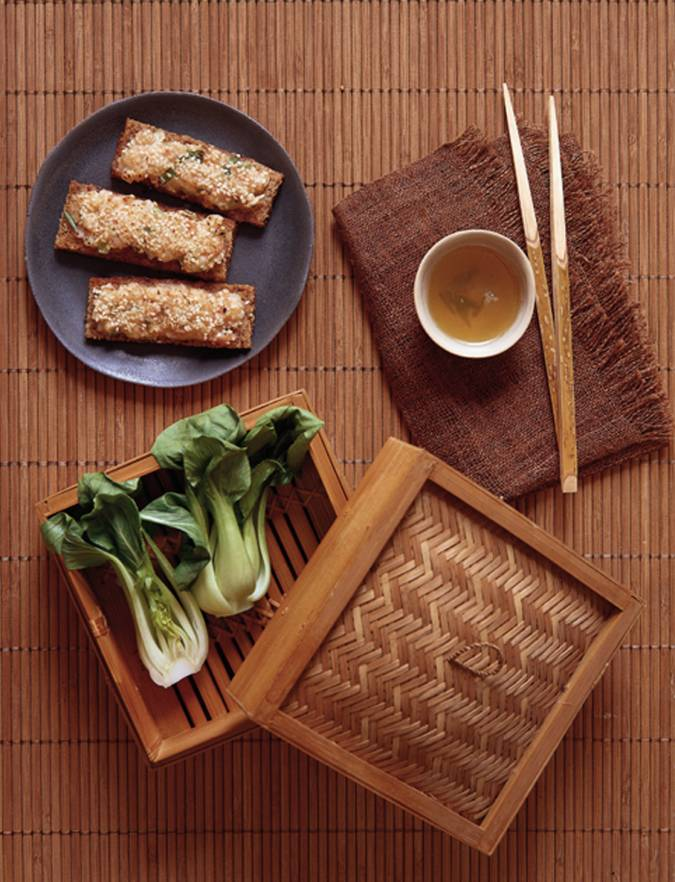 Recipe: Sesame prawn toasts