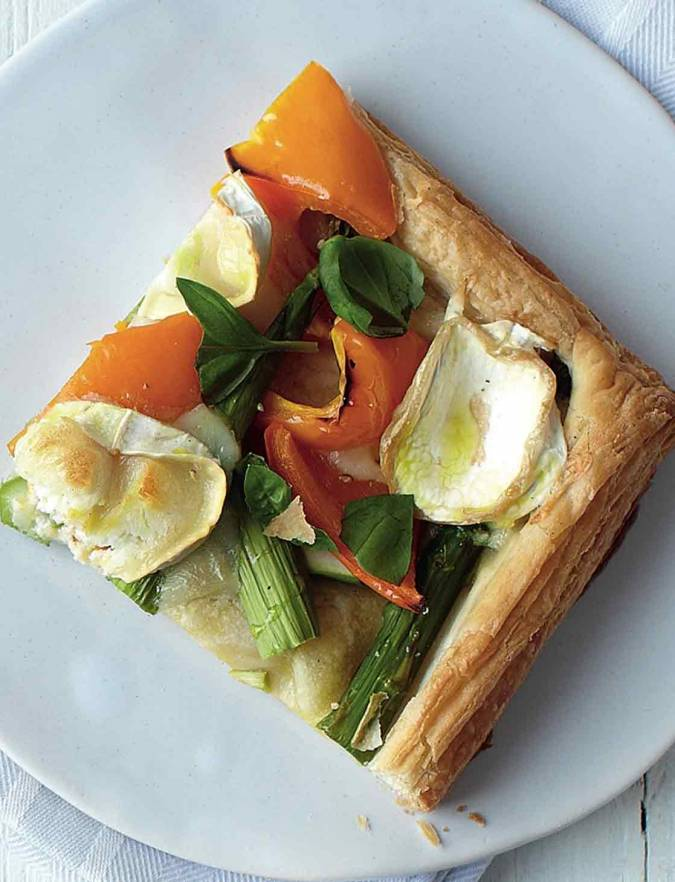 Recipe: Goats' cheese and pepper tart