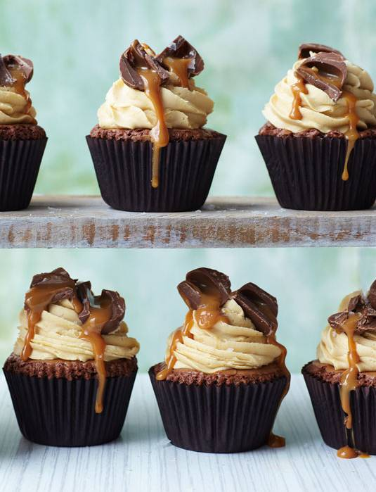Cakes With Salted Caramel