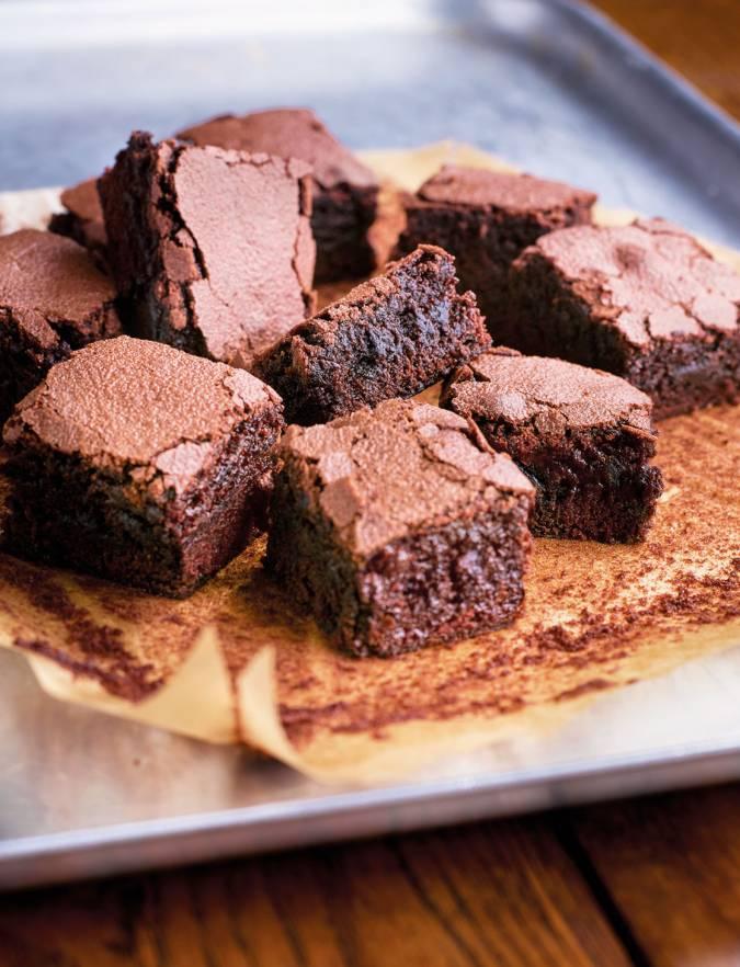 Belgian Chocolate Brownies Sainsbury S Magazine