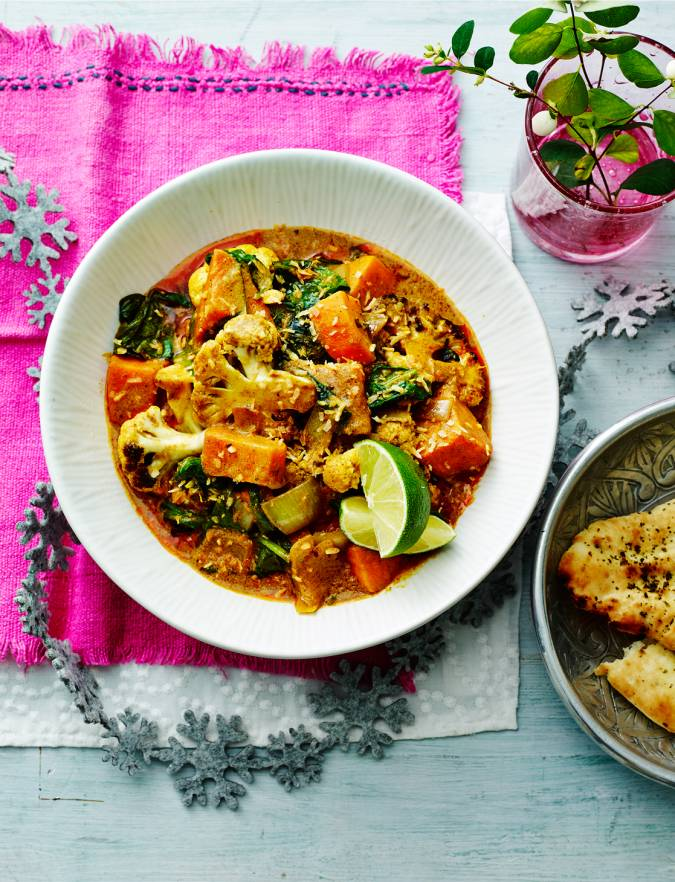 Recipe: Charred cauliflower and coconut curry