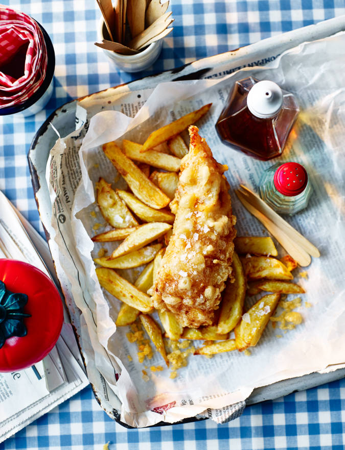 Recipe: Homemade fish and chips